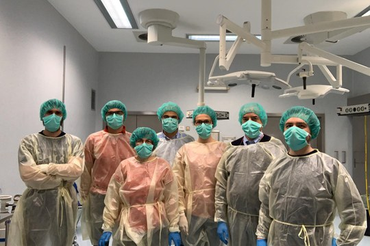 FaBit within the UNIBO multidisciplinary team for surgical masks validation tests